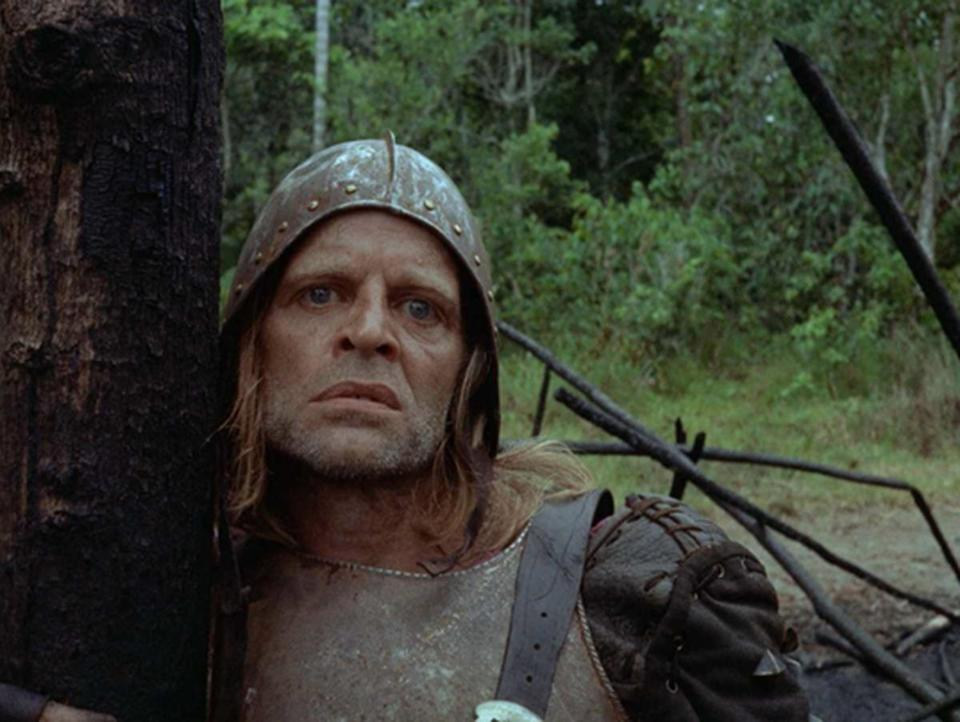 "Klaus Kinski in Werner Herzog's ""Aguirre, the Wrath of God."""